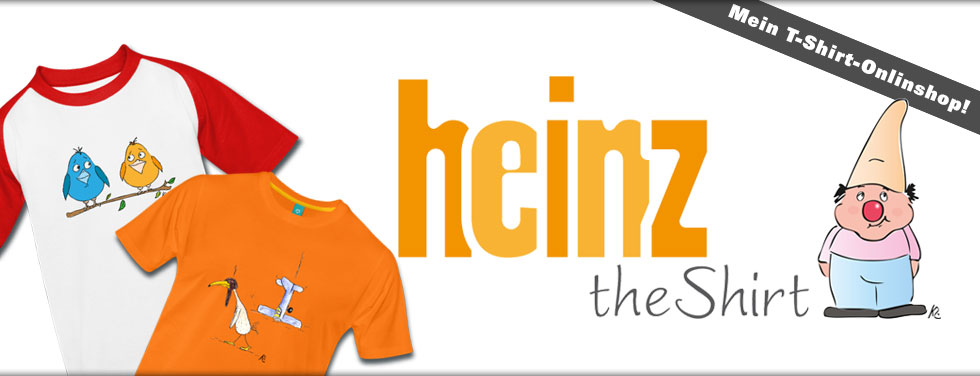 heinz-the-shirt.de - Onlineshop © KleimDesign